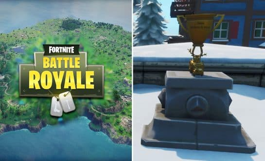 Fortnite Added Bugha, Aqua, and Nyhrox Trophies In-Game