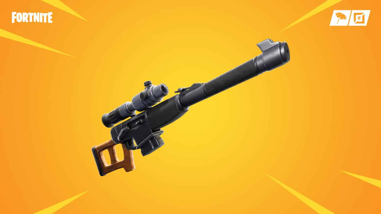 Fortnite Introduces The Automatic Sniper Rifle