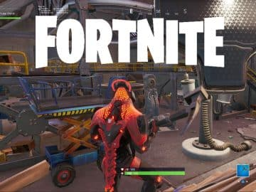 Fortnite Next Beacon is Under Dusty Depot