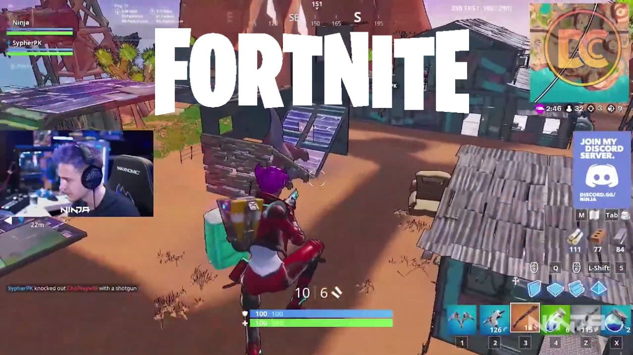 Fortnite Turbo Building Removed Streamers Aren't Happy About It
