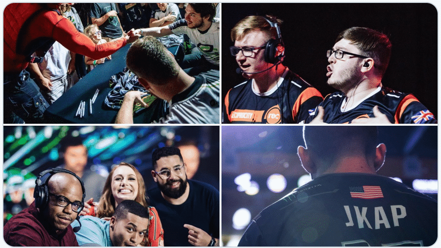Moments from CWL Championship Tournament Esports