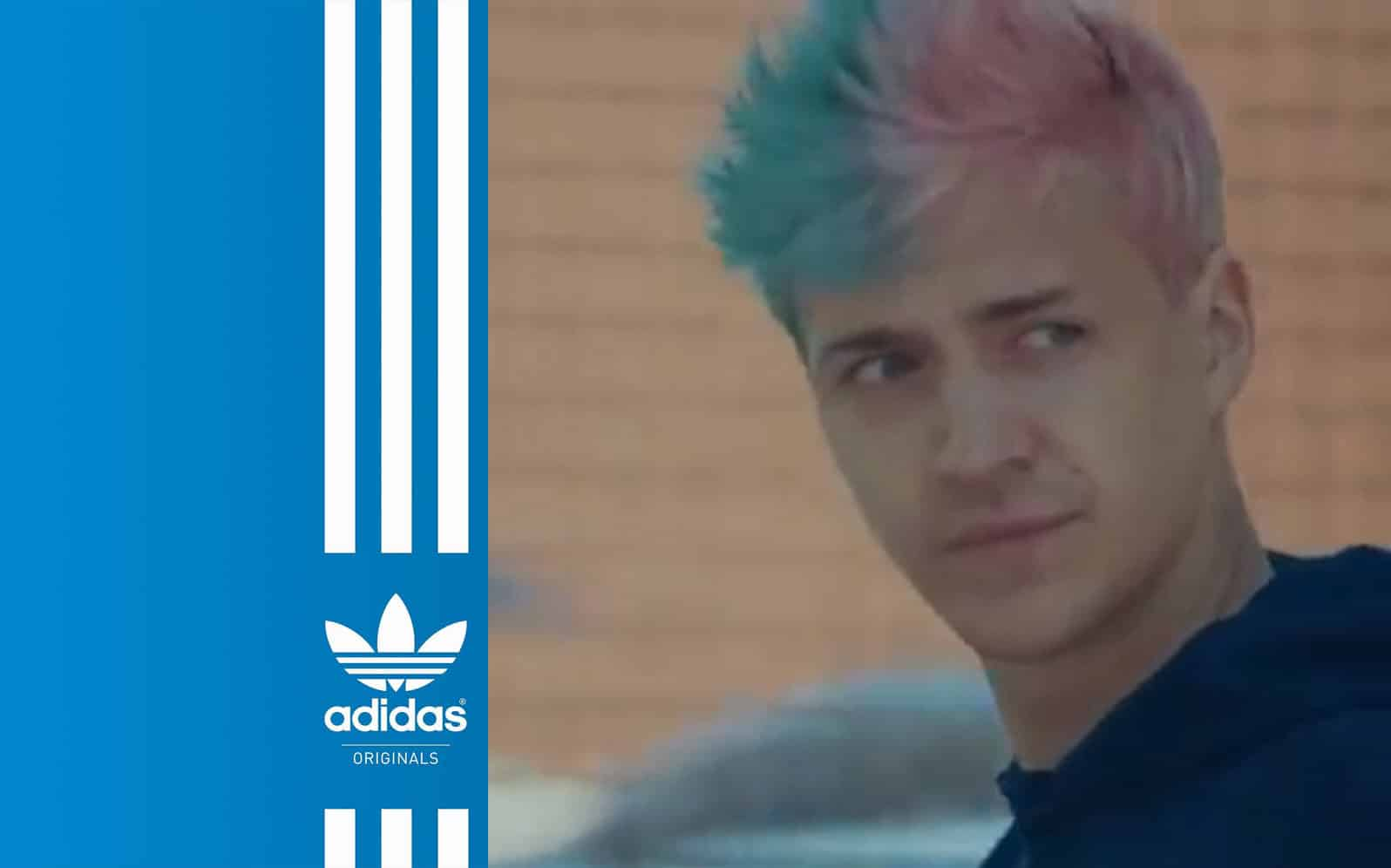 Ninja Partners With Adidas - Put the TIME IN