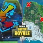 Spray Fountain, Junkyard Crane And Vending Machine Locations