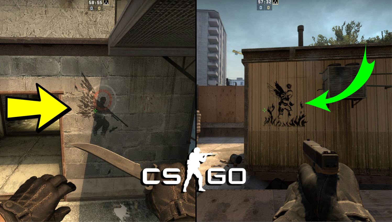 Stories Of CSGO Graffiti
