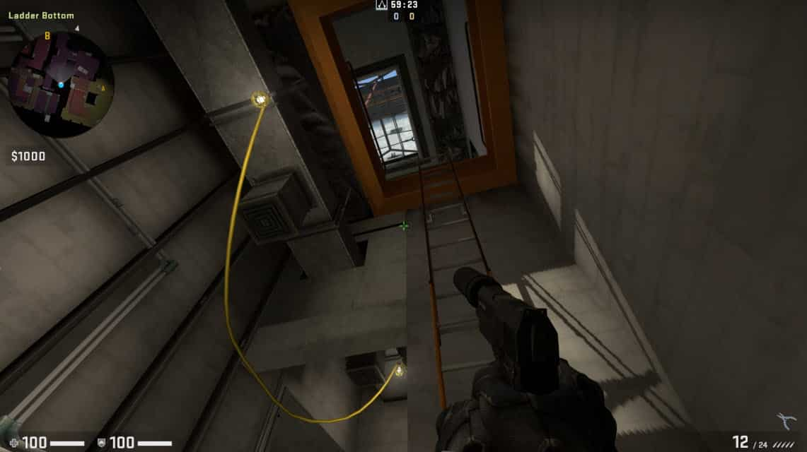 leap of faith as one-way Elevator got changed by Ladders