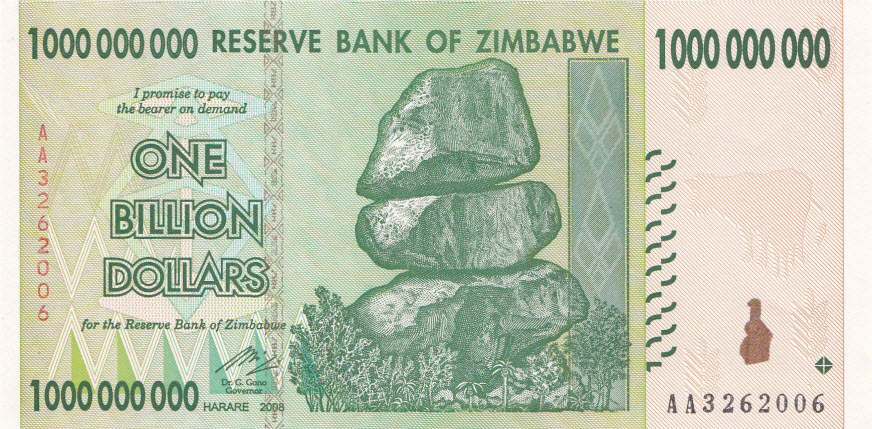 money in zim