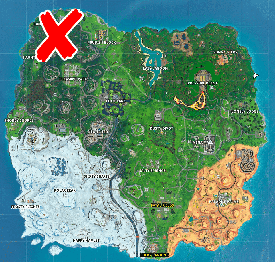 where are materials Material In Fortnite Challenge