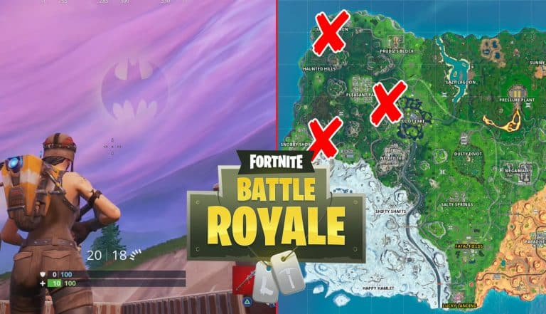 All Fortnite Bat Signals Locations For Gotham City Challenges
