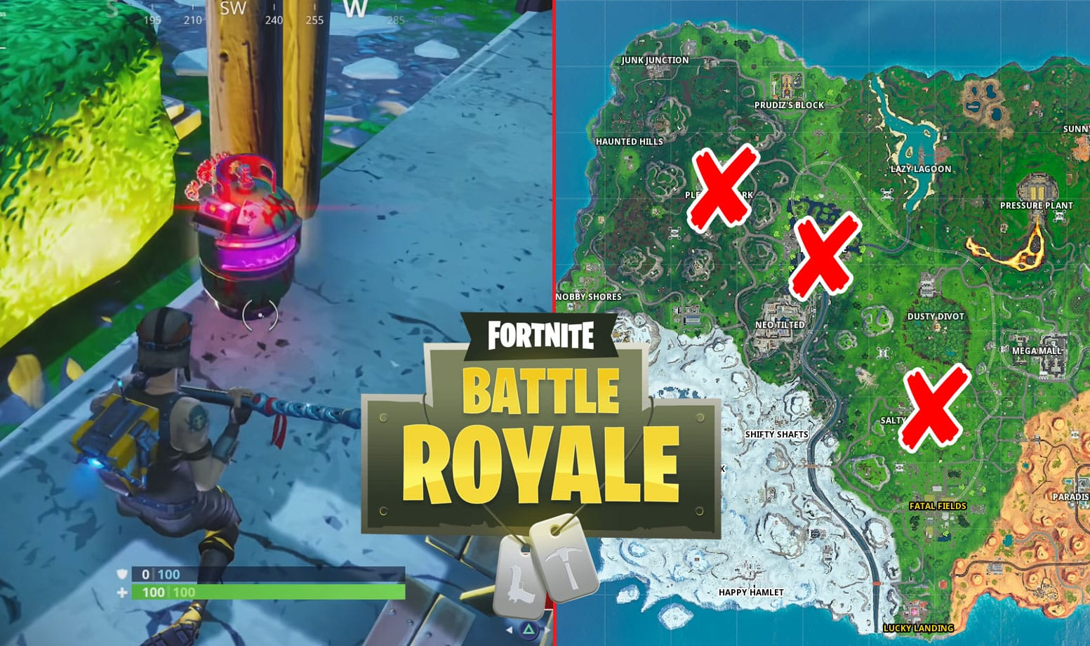 All Fortnite Joker Gas Canisters Locations Guide For Gotham