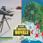 All Fortnite Telescope Locations