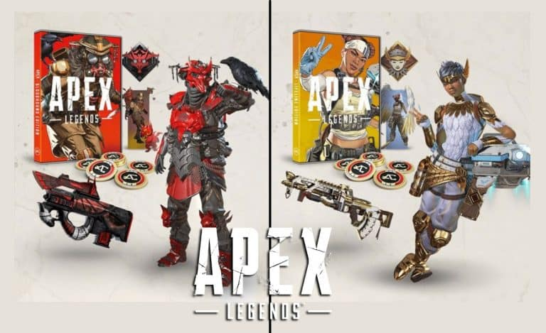 Apex Legends Physical Copies - Bloodhound And Lifeline Editions