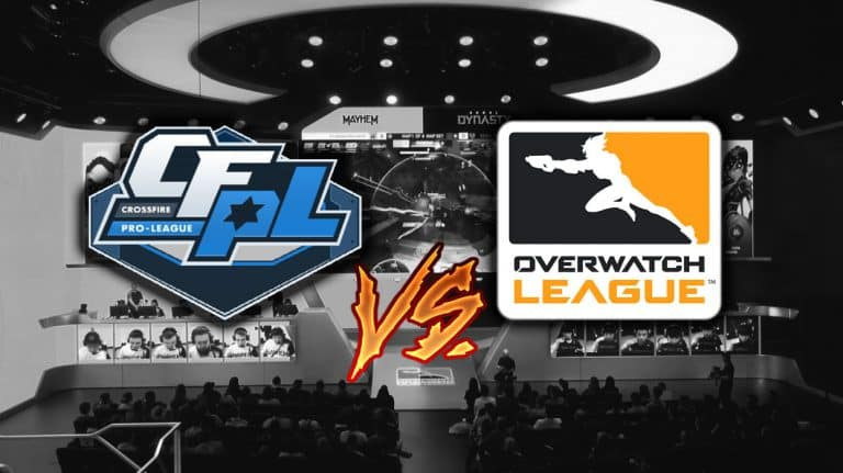 CFPL CrossFire Franchised League VS Overwatch League OWL Comparison.