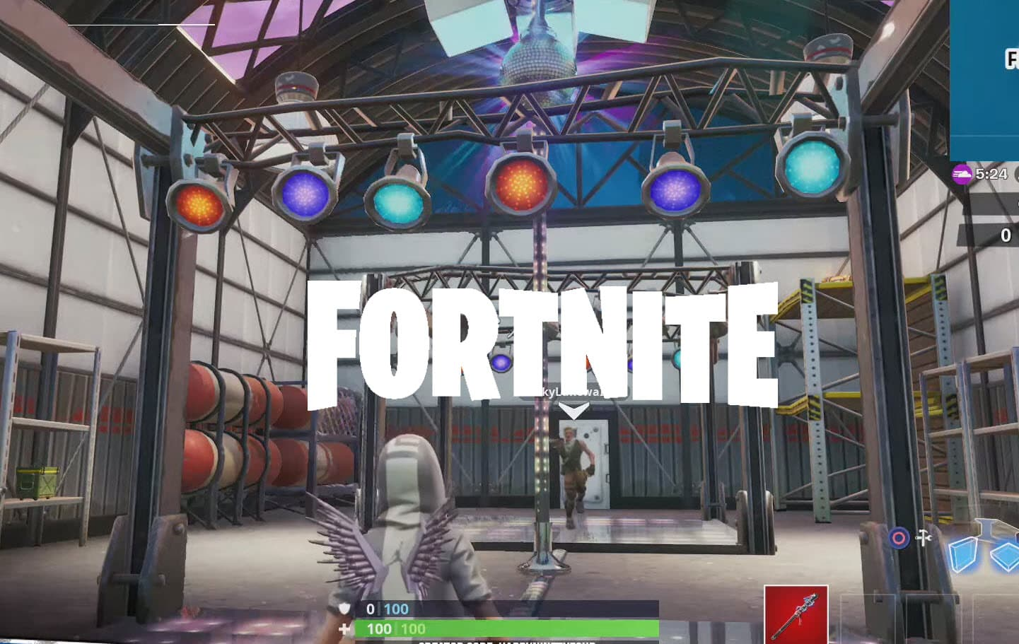 Dance With Others To Raise Disco Ball In An Icy Airplane Hangar Location Guide