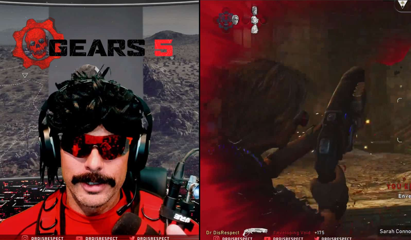 Dr Disrespect Makes Gears 5 Look Easy. Common Baby!