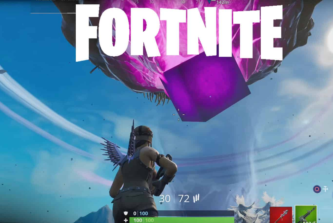 Fortnite Giant Glowing Cube Location Guide