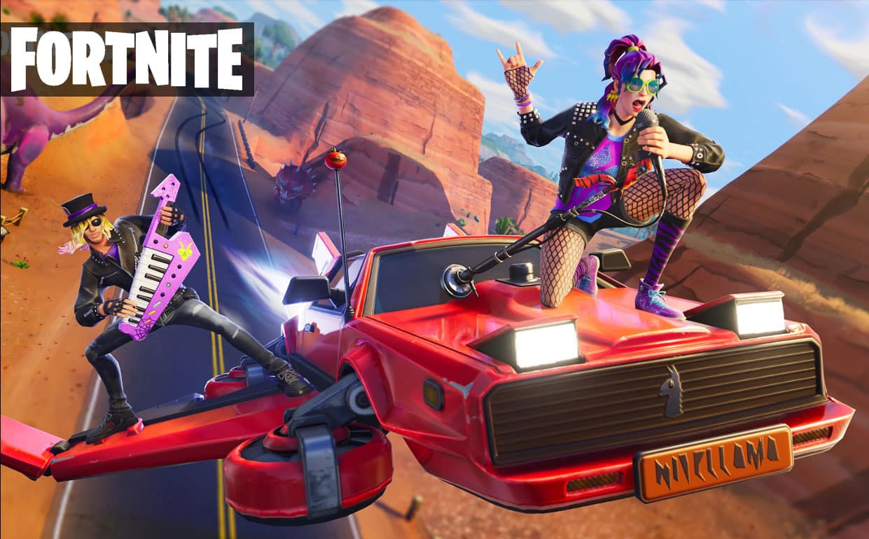 Fortnite Players Introduce New Clever Transportation System