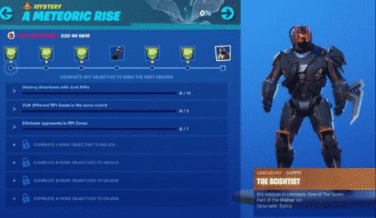 Fortnite Scientist One Of Seven