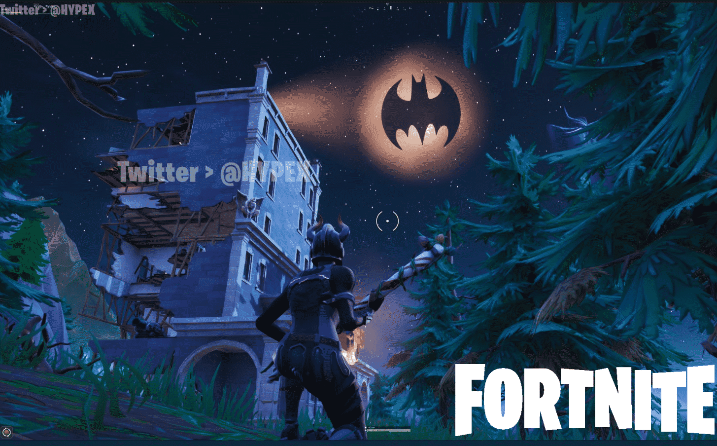Fortnite's Tilted Town Is Becoming Gotham City
