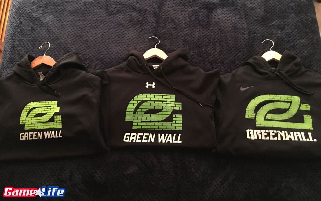 Greenwall OpTic hoodies Nike Under Armor