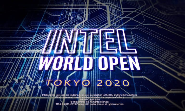 INTEL Esports Tournament Olympic Games Tokyo Intel World Open 2020