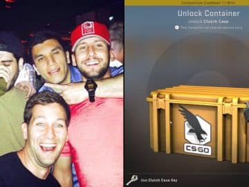 Streamer Unlocks The Rarest CSGO Clutch Case Item