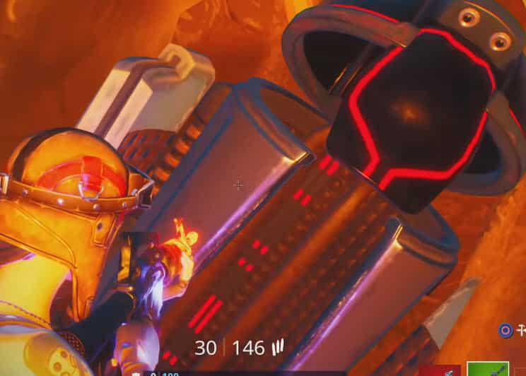where is the landing pod in the meteor in Fortnite