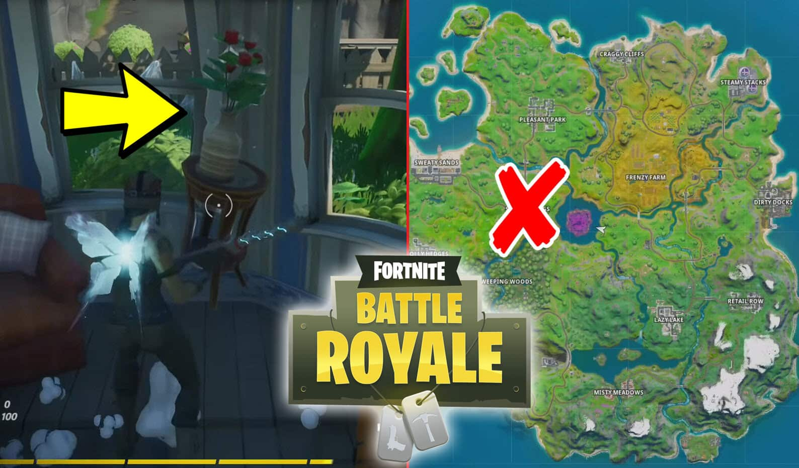 All Fortnite Haunted Household Furniture Locations
