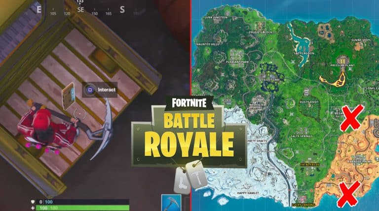 All Fortnite Visitor Recording Locations