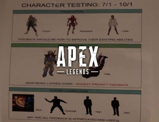 Apex Legends New Legends Leaked By That1MiningGuy On Twitter