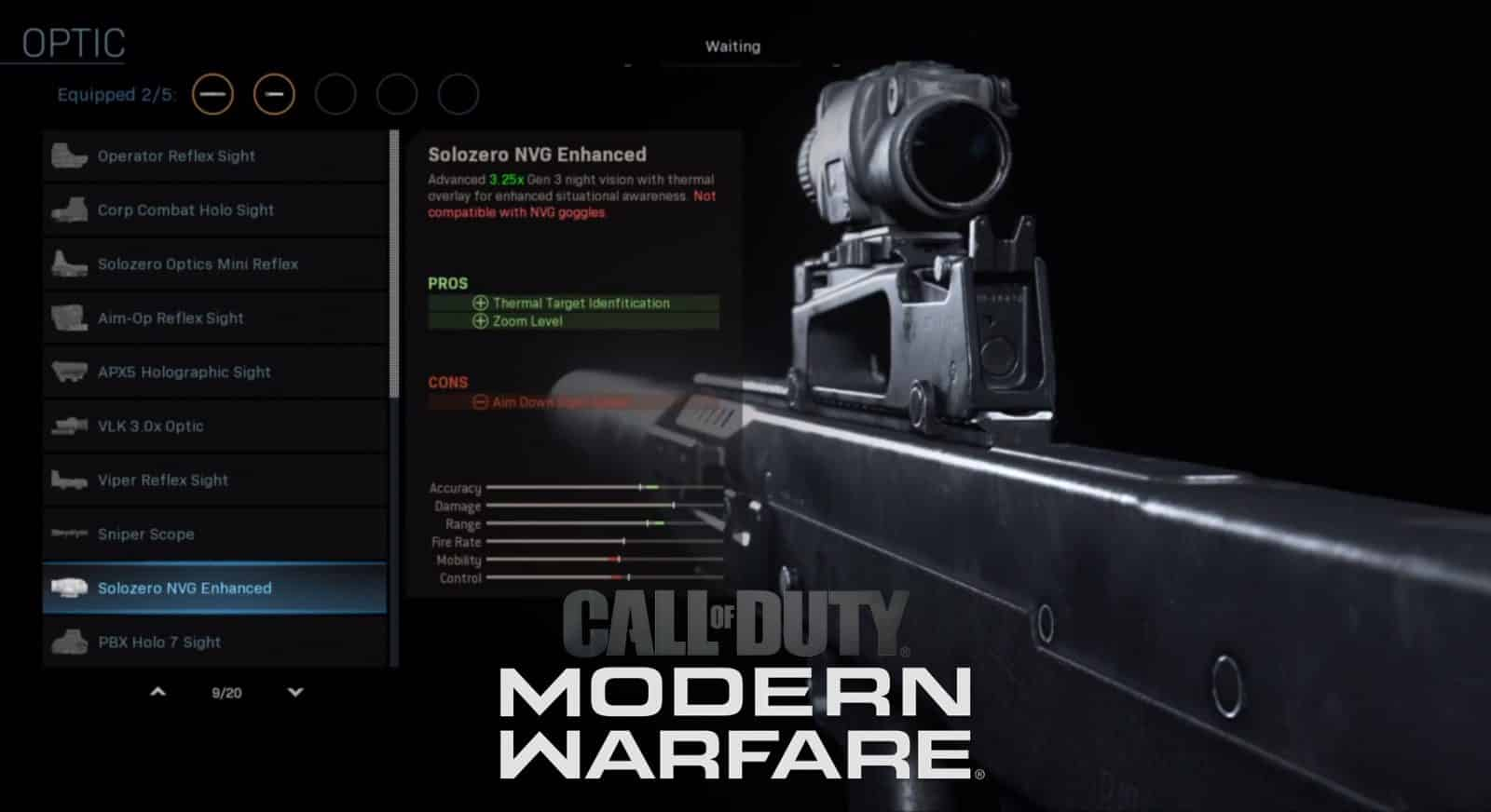 Best Modern Warfare Oden Weapon Upgrade Customization Call Of Duty