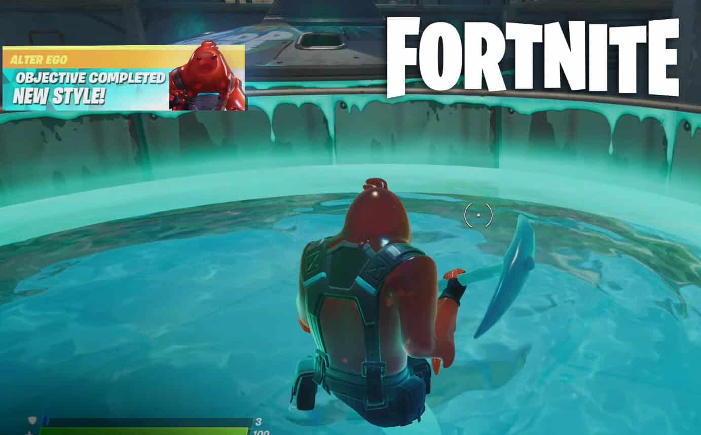 Enter The Fortnite Slurp Vat While Wearing The Rippley Outfit Location Challenge