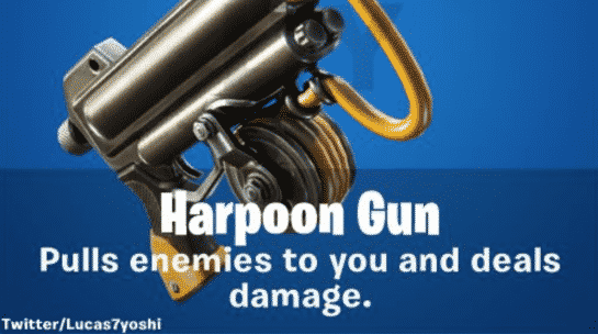 Fortnite Harpoon Gun Leaked