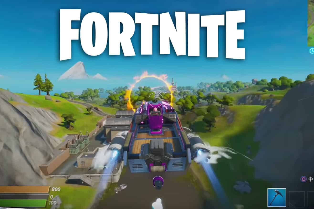 Fortnite Motorboat Flaming Rings Locations Challenge