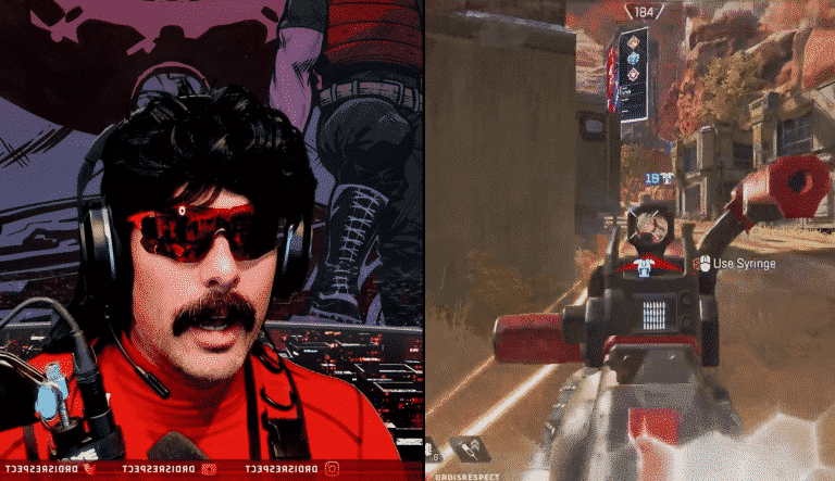 Teammate Saves Dr Disrespect From Raging On Apex Legends