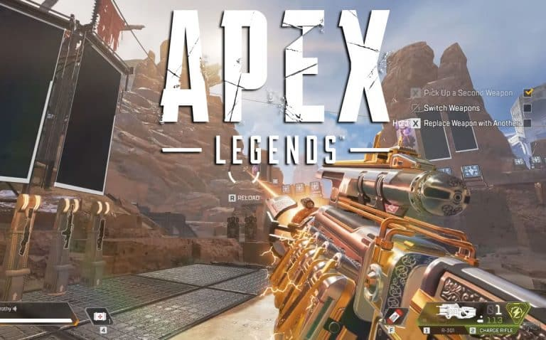 The Apex Legends Charge Rifle Is OP