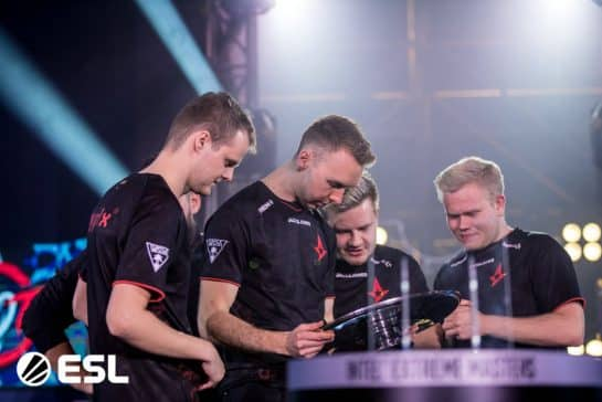 Astralis Enters The Intel Grand Slam Race With IEM Beijing Win Over 100 Thieves