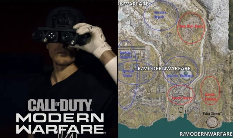 Call of Duty Modern Warfare Battle Royale Leaks Look Amazing