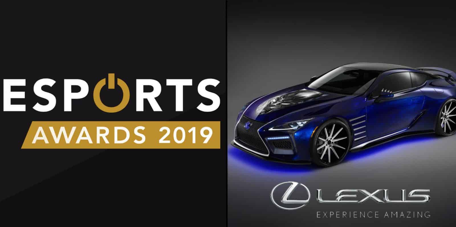 Esports Awards Partners with Lexus for Fourth Annual Event