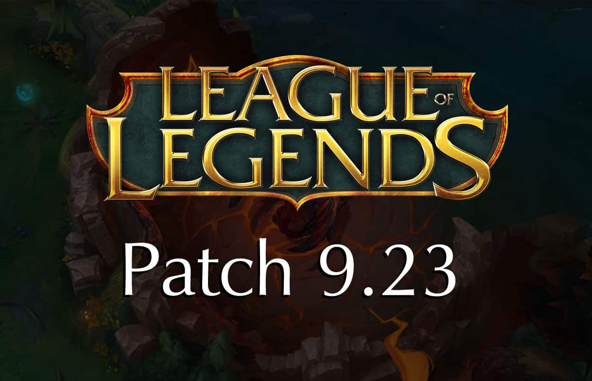 Everything You Need To Know About League Of Legends Patch 9.23