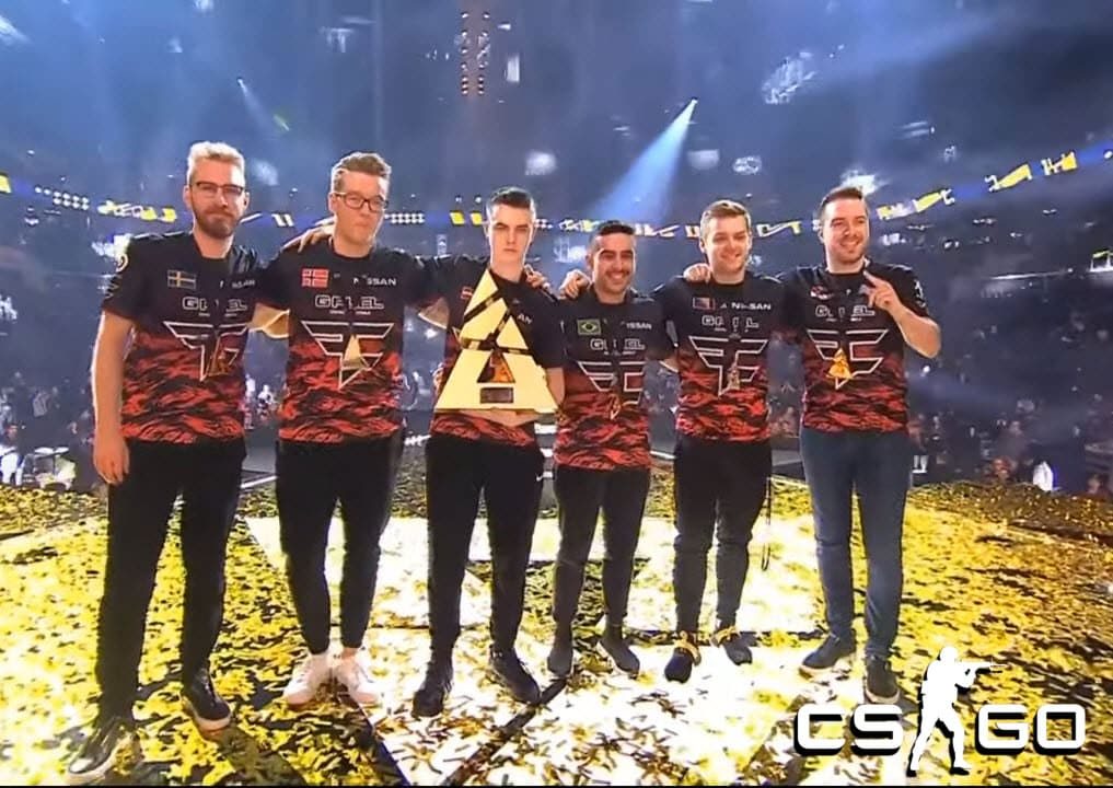FaZe Clan Win Their 1st Tournament With New Roster At NiP's Expense
