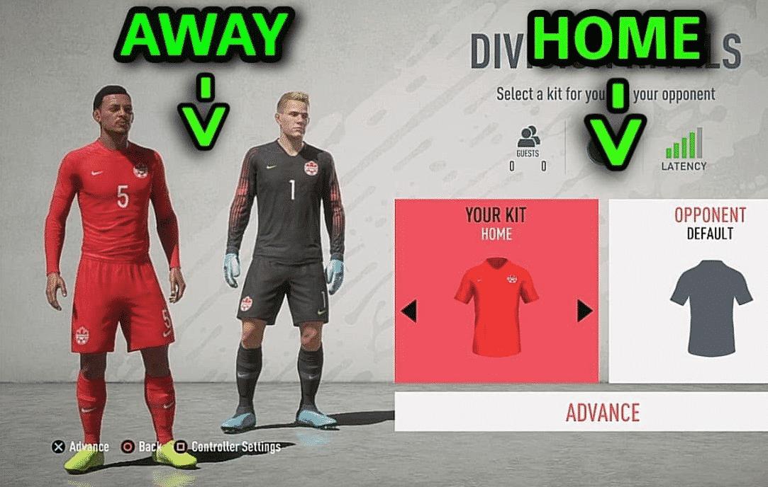 Home matches glitch fixed FIFA 2020