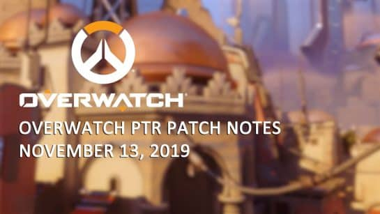 Overwatch Shields Nerfed - November Patch Notes
