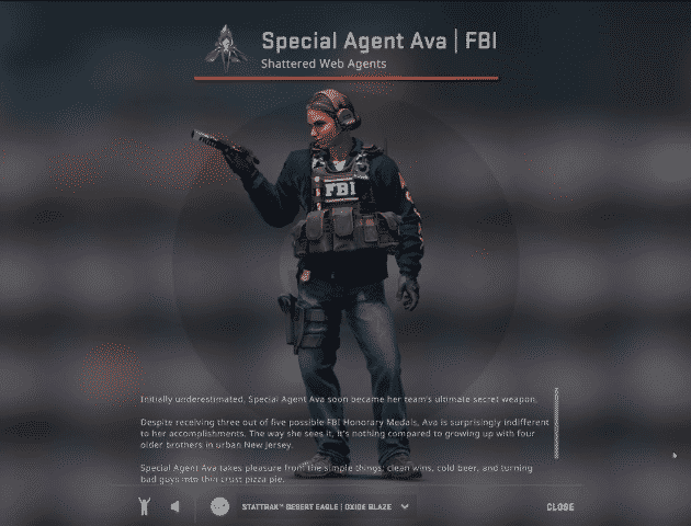 Shattered Web Special Agent Ava FBI