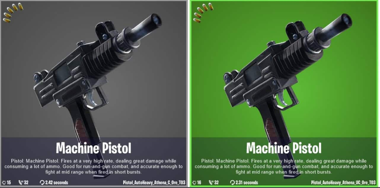 The Machine Pistol Is Coming To Fortnite