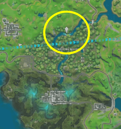 where is the missing T in Fortnite Alter Ego challenge