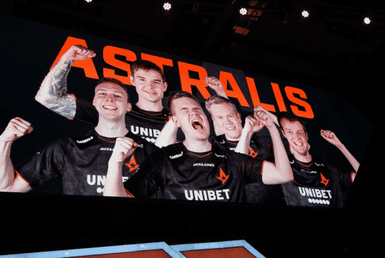 Astralis Stays Atop CS rankings After ECS Finals Win Over Team Liquid
