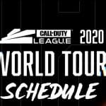 Call of Duty World League Schedule For The 2020 Season [World Tour]