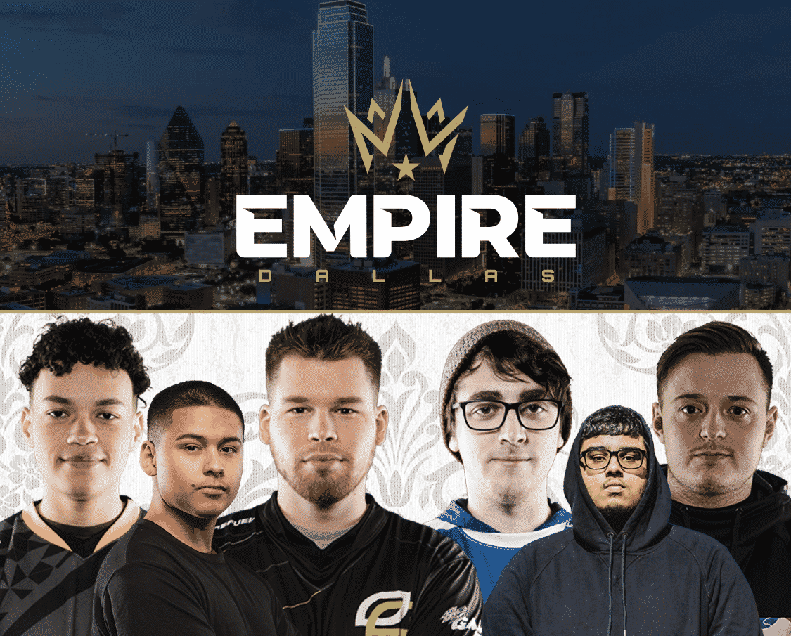 Dallas Empire Roster Team Crimsix C6 Clayster Huke Shotzzy Tommey Illey