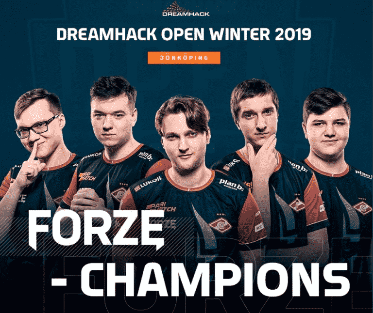 ForZe Bounces Back, Bags DreamHack Open Winter Trophy