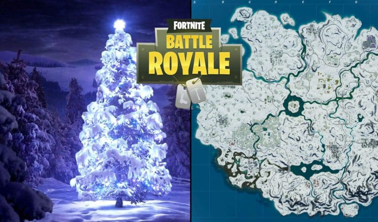 Fortnite Map Will Be Covered In Snow Again For Christmas